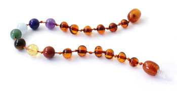 Amber, Chakra, Bracelet, Polished, Cognac, Anklet, Jewelry, Knotted, Baltic, Gemstone 2