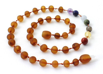Raw, Chakra, Cognac, Necklace, Teething, Unpolished, Baltic, Gemstone 2