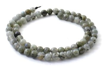 Labradorite Gemstone 6 mm Loose Beads