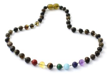 Green, Amber, Polished, Chakra, Necklace, Jewelry, Gemstone, Baltic, Teething 2