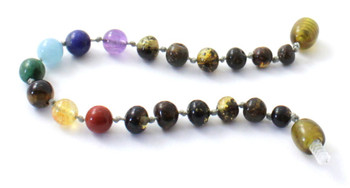 Green, Baltic, Chakra, Amber, Anklet, Teething, Adult, Bracelet, Gemstone, Jewelry 2