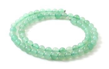 Aventurine, Gemstone, Bead, Beads, Strand, Green, Natural, 6 mm, 6mm, round, polished