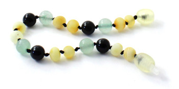 Bracelet, Obsidian, Amber, Anklet, Jewelry, Raw, Milky, Butter, Green Aventurine, Gemstone 2