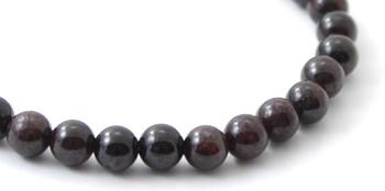 Bracelet, Jewelry, Red, Garnet, Gemstone, 6mm, 6 mm, Bracelet, Adult, Women, Women's 2