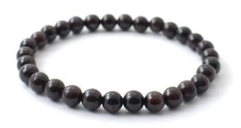 Bracelet, Jewelry, Red, Garnet, Gemstone, 6mm, 6 mm, Bracelet, Adult, Women, Women's