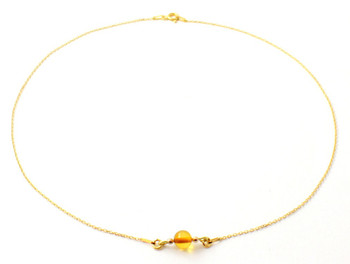 silver, amber, necklace, beaded, minimalist, golden, sterling 925, cognac, jewelry, baltic 2