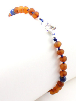 jewelry, anklet, baltic, amber, silver, clasp, adjustable, amazonite, lapis lazuli, sterling 925, african jade 2