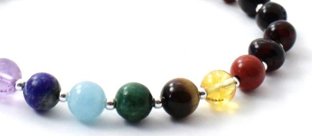 Cherry, Baltic Amber, Chakra, Silver, Sterling 925, Polished, Jewelry, Gemstone, Women 2