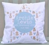 New Baby Personalised Cushions