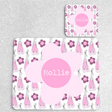 Ballet Personalised Placemat and Coaster Set