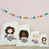 Personalised Movie Night Party Bags
