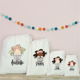 Personalised Sleepover Party Bags
