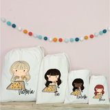 Personalised Pizza  Party Bags