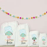 Personalised Pamper  Party Bags