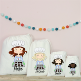 Personalised Baking Party Bags