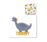 Personalised Dinosaur Placemat and Coaster - Tommy