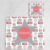 London Town Personalised Placemat and matching coaster