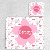 Fairies Personalised Placemat and Coaster Set