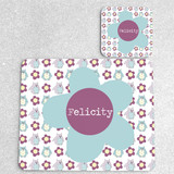 Little Owls Personalised Placemat and Coaster Set