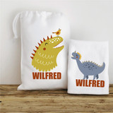 Personalised Wash Bag and Wash Cloth - Roarsome Dinosaurs