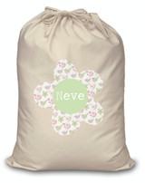 Girl's Personalised Laundry/Toy bag