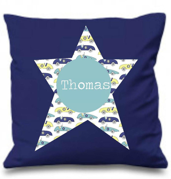 Boy's Personalised Cushions