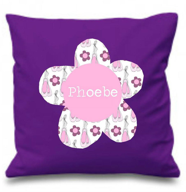 Girl's Personalised Cushions