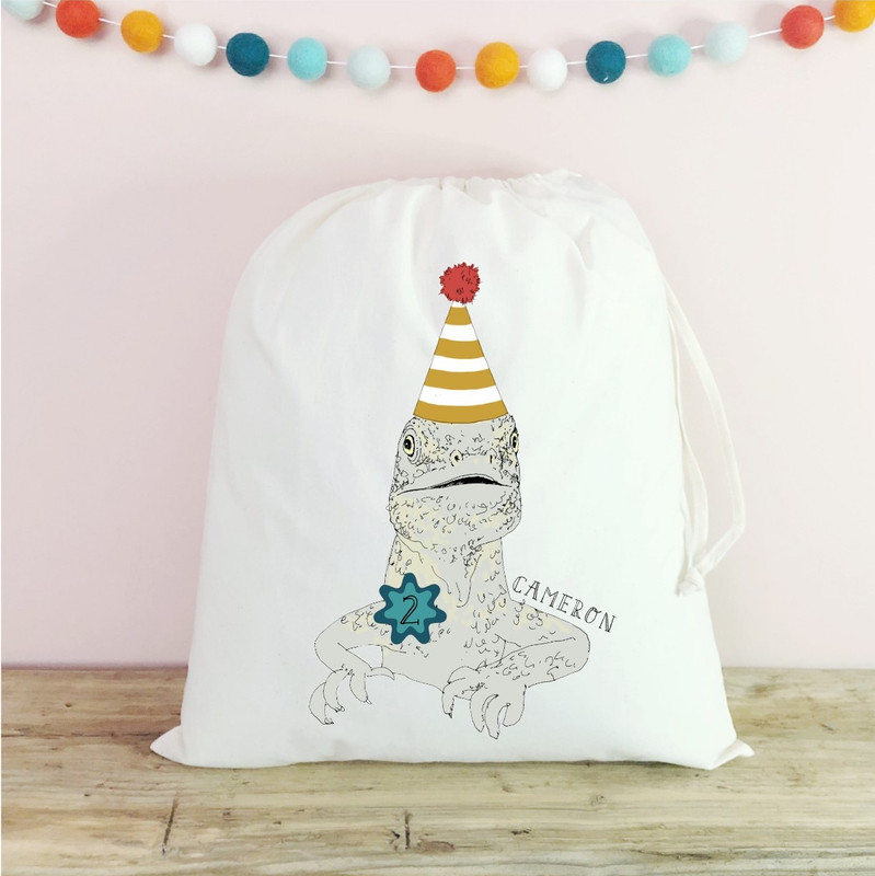 Personalised Cotton Pet Party Bags