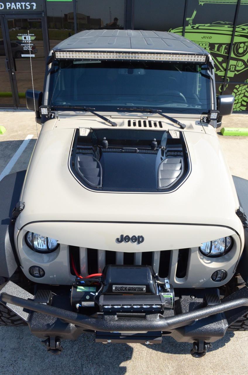 Jeep Wrangler Heat Reduction Hood Blkmtn