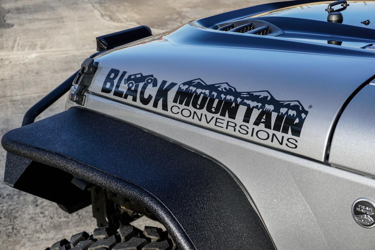 Black Mountain Conversions Hood Decal Blkmtn