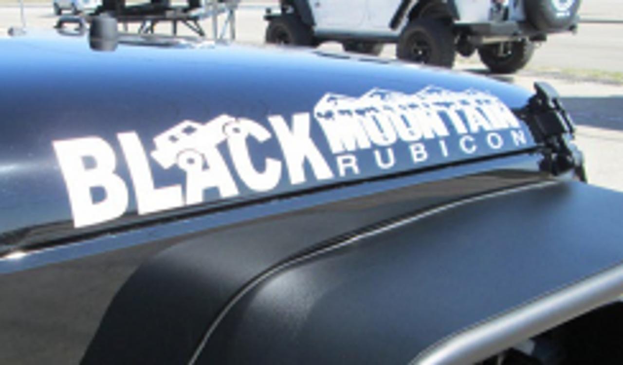 Black Mountain Rubicon Hood Decal Blkmtn