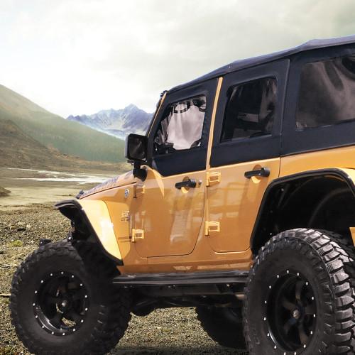 Suspension - Jeep Lift & Leveling Kits - Lift Kits - Black