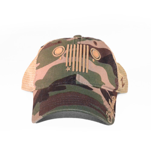Jeep Grill Relaxed Cap af27a06af3f5