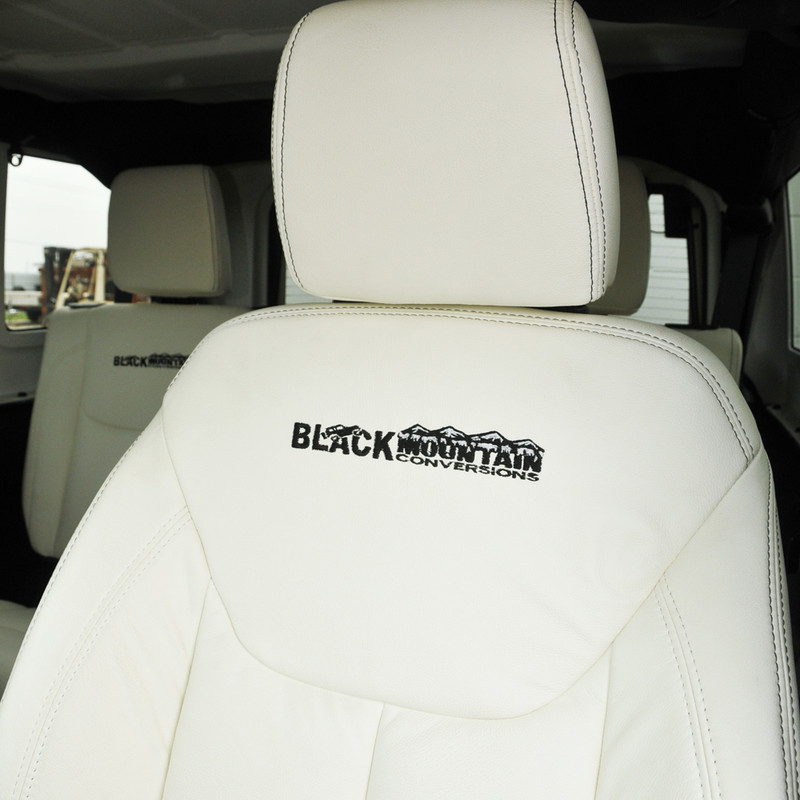 Jeep Wrangler Leather Seat Covers White Blkmtn