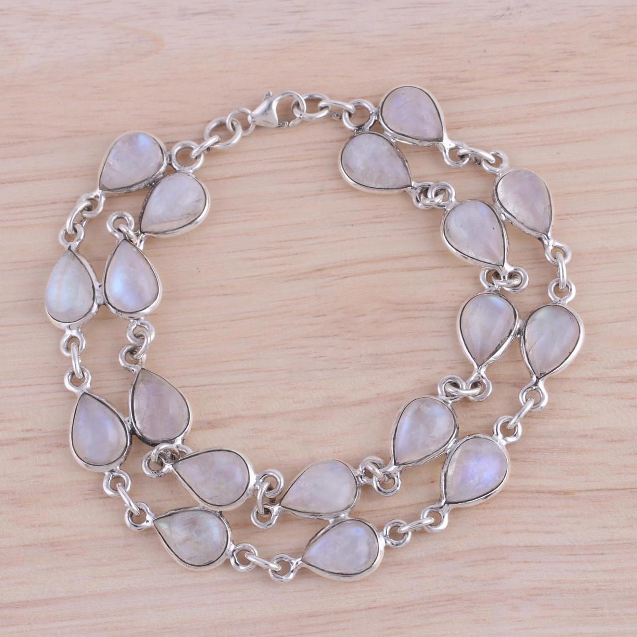 Sterling Silver Nature Link Bracelet