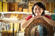 Asunta Pelaez - Life Affirming Love of Glass Painting