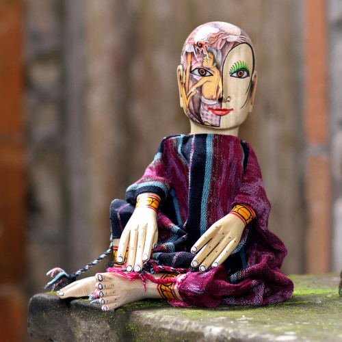 Hand Painted Display Doll 'Legend'