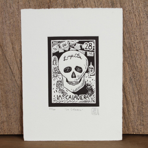 'The Skull 'The Skull Tequila Lotto'