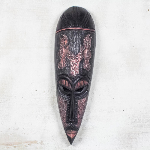 African wood mask 'Going and Coming'