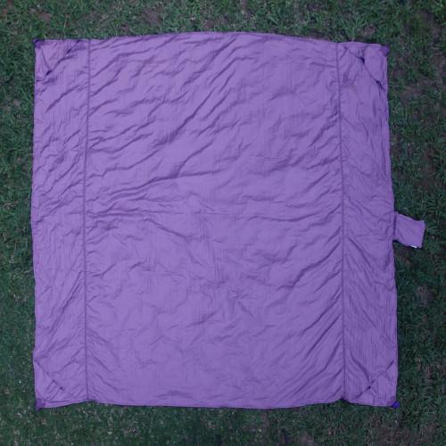 Java Nylon Parachute Silk Purple Beach Blanket 'Sanur Purple'