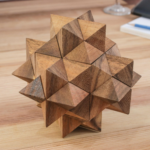 Raintree Wood 3D Puzzle from Thailand 'Great Star'