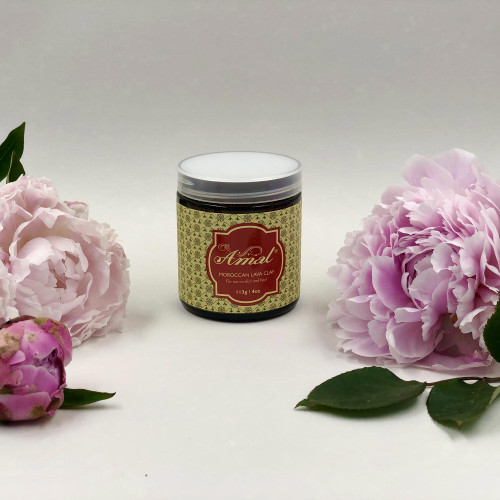 Amal Moroccan Lava Clay For Skin Cleansing 'Moroccan Lava Clay'