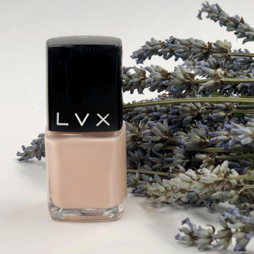 LVX Bare Semi-Opaque Palest Pink Nail Lacquer 'Bare'