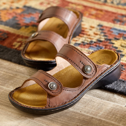 Museum-to-market Adjustable Sandals 'Museum to Market'
