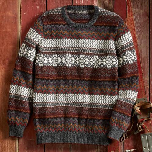 La Nieve Alpaca Sweater 'La Nieve'