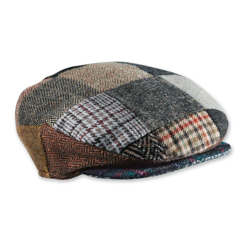 Irish Donegal Tweed Cap 'Donegal Patch'