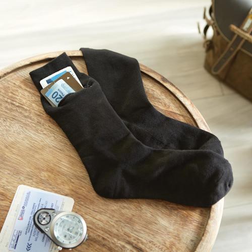 Set of Three Pairs of ZipIt Travel Socks 'Zip-It'