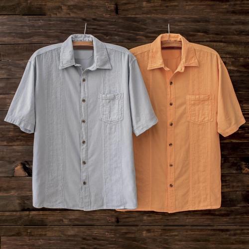 Men's All-Cotton Peruvian Calypso Shirt ''Calypso''