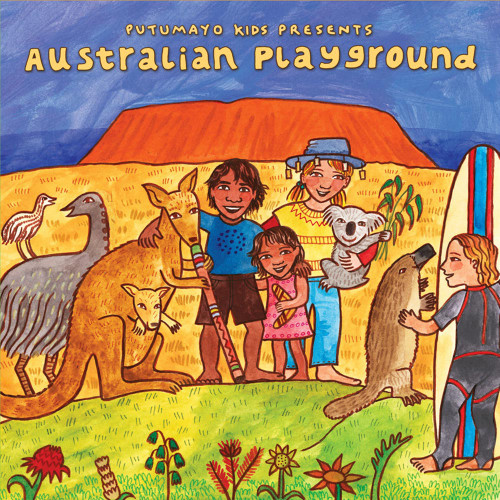 Putumayo Australian Playground Audio CD 'Australian Playground'