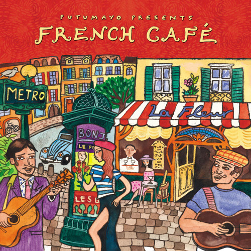 Putumayo French Caf Music CD 'French Caf'